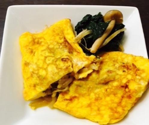 ナムルの卵焼き