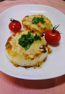 カレー風味の玉ねぎチーズ焼き