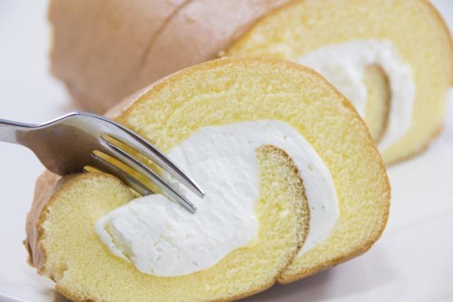 保水性|ロールケーキ|スポンジケーキ