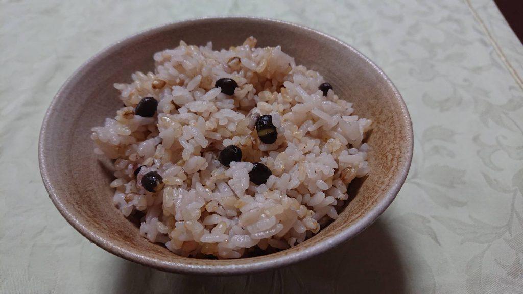 雑穀ご飯 黒仙谷