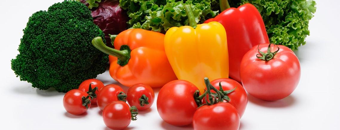 カラフルな食卓 野菜