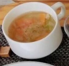 アマランサスのスープ